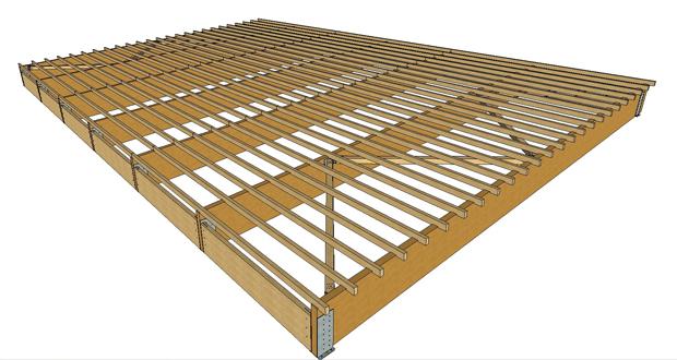 Copertura in legno per la nuova piscina di maiolati - Piscina fai da te legno ...