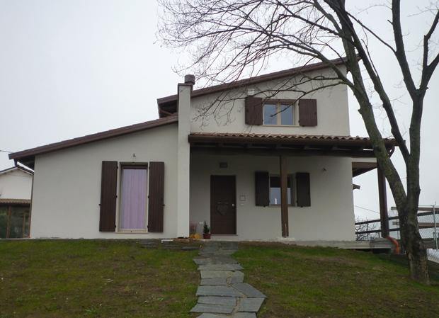 Villa monofamiliare sarnano mc for Piani di struttura esterna