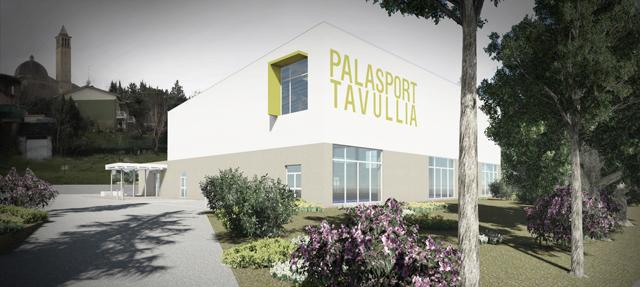 Presentato il nuovo palasport tavullia pu for Dimensioni finestre velux nuova costruzione