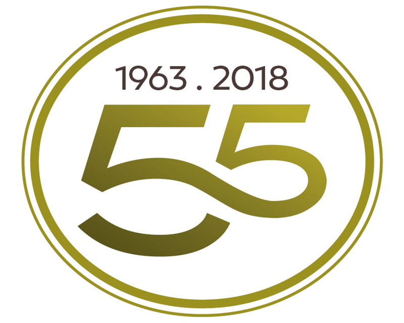 From 1963 To 2018 Our Initial 55 Years