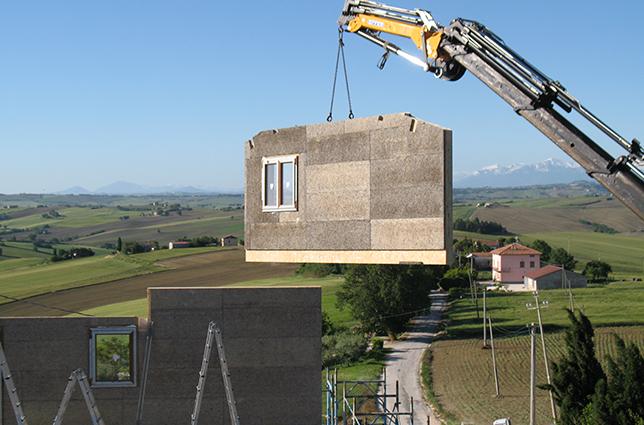Pareti In Legno Prefabbricate : Tecnologia di costruzione sistema platform frame delle case in legno