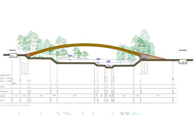 Progettare Un Ponte.Un Ponte Da 60 Ml Di Luce Libera Sul Fiume Nevola
